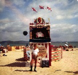 The future Weymouth Punch & Judy man infant of Guy's show