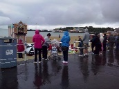 Punch & Judy in the rain